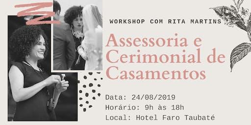 Workshop Assessoria e Cerimonial de Casamentos