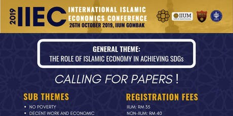 INTERNATIONAL ISLAMIC ECONOMICS CONFERENCE tickets