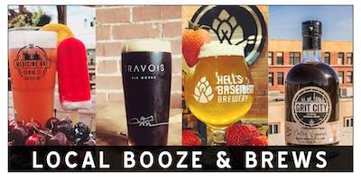 Medicine Hat Lodge Presents: Local Booze & Brews