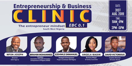 Entrepreneurship & Business Clinic 0.1 tickets