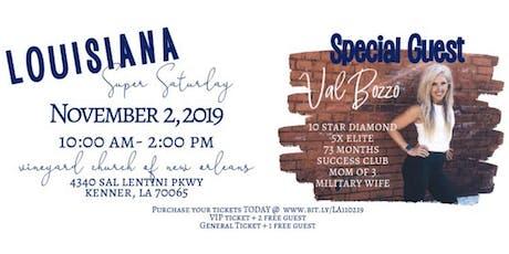 Louisiana Super Saturday - November 2nd tickets