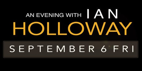AN EVENING WITH IAN HOLLOWAY tickets