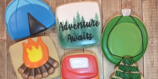 Cookie Decorating Class - Camping Theme