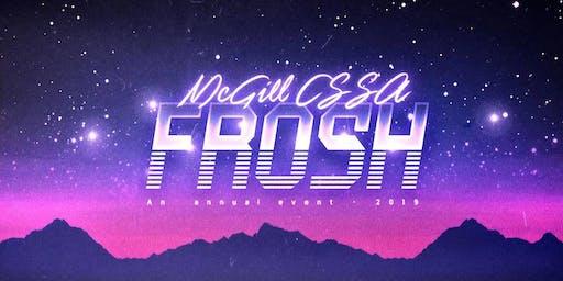 McGill CSSA FROSH 2019