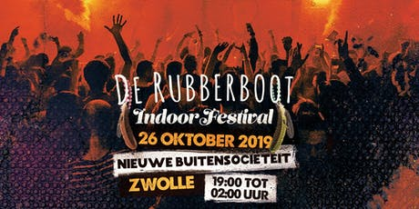 De Rubberboot Indoor Festival tickets