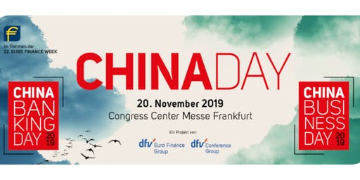 EURO FINANCE WEEK - CHINA DAY - 20 November 2019