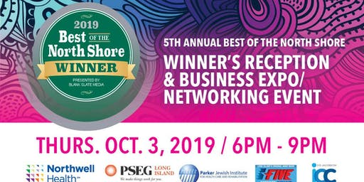 2019 Best of the North Shore Winner's Reception and Networking Event