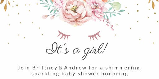 Shimmering and Sparkling Babyshower for Morgyn Savanna Callender