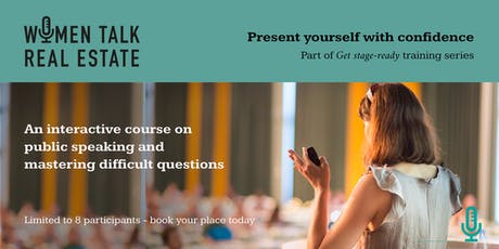 Present yourself with confidence & master difficult questions, 19 November tickets