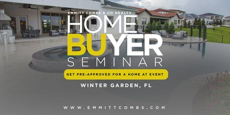 Homebuyer Seminar - Emmitt Combs & Co Realty tickets