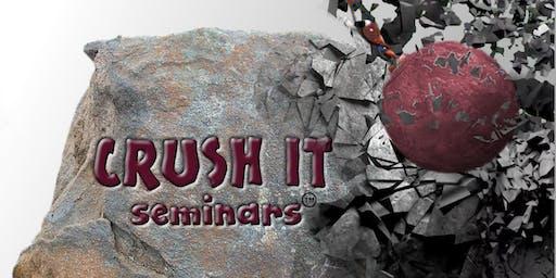 Crush It Prevailing Wage Seminar September 10, 2019 - Sacramento