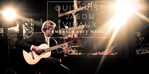 Classical Guitarist Jason Vieaux at Emerald City Music