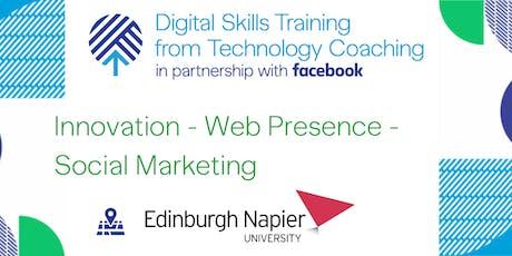 Facebook's Digital Skills Training @Napier University - Edinburgh tickets