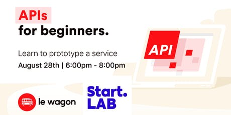 API for Beginners special Start.LAB tickets