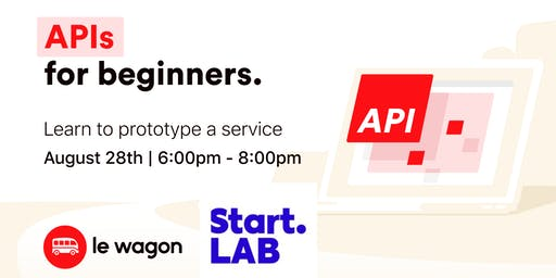 API for Beginners special Start.LAB