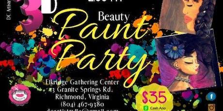 3D  BEAUTY PAINT PARTY tickets