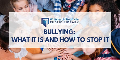 Bullying: What It Is and How to Stop It tickets