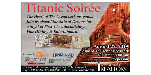 WCR-GSM'S TITANIC SOIREE