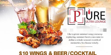 WINGS, BEER & COCKTAILS tickets