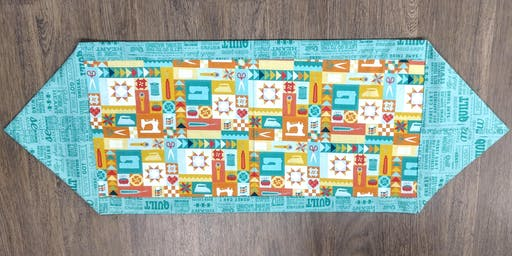 Ten Minute Table Runner with Courtenay