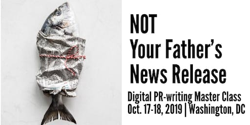 NOT Your Father's News Release in Washington, D.C.