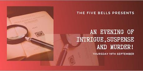 An Evening of Intrigue, Suspense & Murder tickets