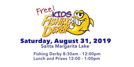 Free Fishing Derby at Santa Margarita Lake tickets