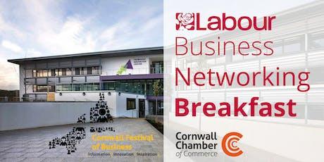 Labour Business Networking Breakfast tickets
