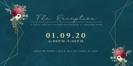 The Reception - a unique bridal event at Armature Works
