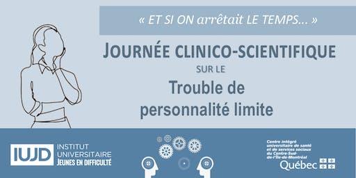 Journée clinico-scientifique sur le trouble de personnalité limite