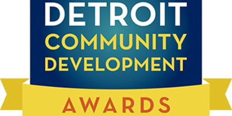 2019 Detroit Community Development Awards tickets