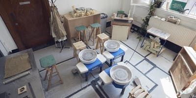 (Open Studio) Pottery session 12:00 - 15:00