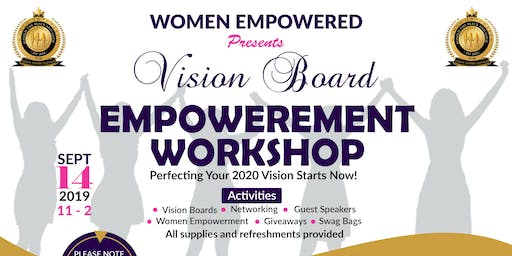 Vision Board Empowerment Workshop - Perfecting Your 2020 Vison