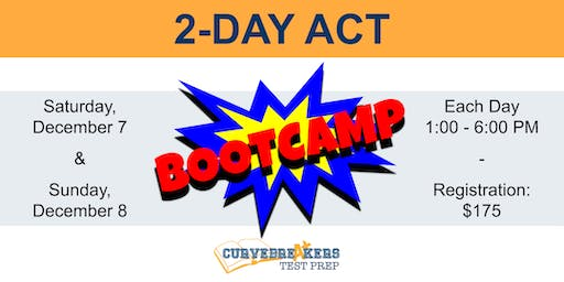 2-Day ACT Bootcamp for the December 14th Exam