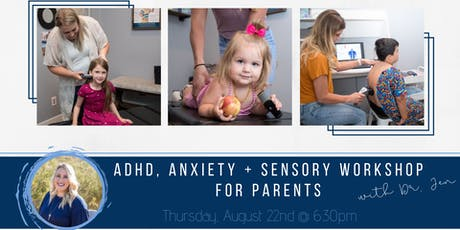 Anxiety, ADHD & Sensory Workshop tickets