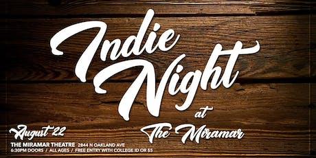Indie Night No 4 tickets