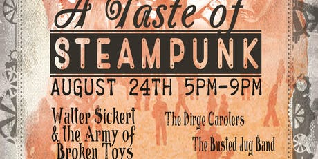 A Taste of Steampunk tickets