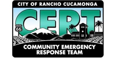 CERT Basic Training (Community Emergency Response Team)