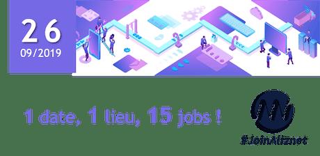 RECRUTEMENT ALIZNET : Chope ton job à Laval le 26/09 ! billets