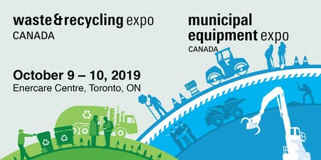 Waste & Recycling Expo Canada 2019 tickets