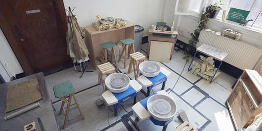 (Open Studio) Pottery session 15:00 - 18:00