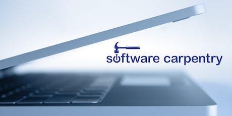 Software Carpentry Workshop tickets