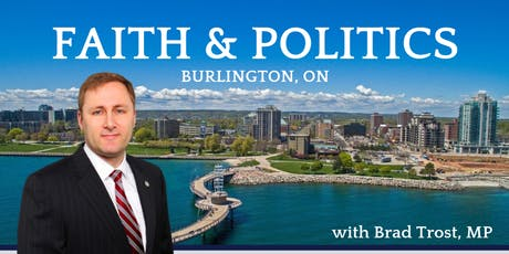 Faith and Politics - Burlington, ON tickets