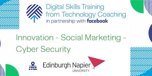 Facebook's Digital Skills Training @Napier University - Edinburgh
