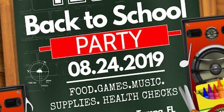 Parents  Test 2 : Back to School Party tickets