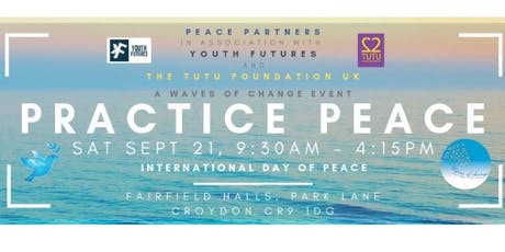 Waves of Change - International Day of Peace  : Practice Peace tickets