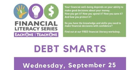 Financial Literacy - Debt Smarts tickets