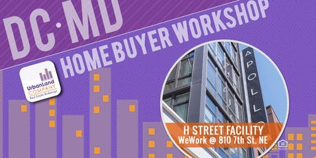 DC/Maryland Home & Condo Buyer Workshop - 8/31/2019 tickets