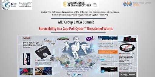 Survivability in a Geo-Poli-Cyber Threatened World International Summit Series - Cyprus.