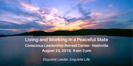 Living and Working in a Peaceful State tickets
